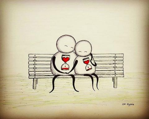 Комиксы о любви