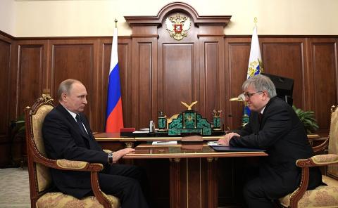 Встреча с ректором Высшей шк…