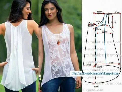 Шьем красивые блузки: 16 вык…