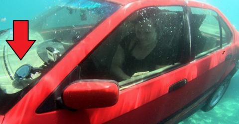 Как выбраться живым из тонущей машины: однажды эти советы могут спасти жизнь