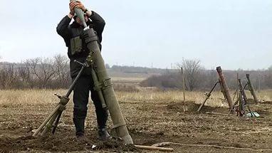 Боевики «АТО» за сутки выпустили по ДНР более 900 боеприпасов