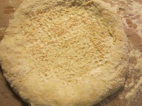 Тандырные лепешки из духовки