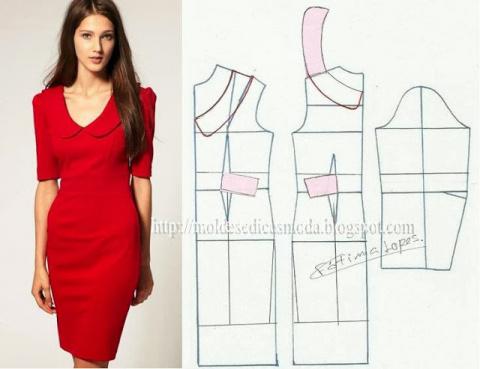 Простые выкройки летних платьев 24