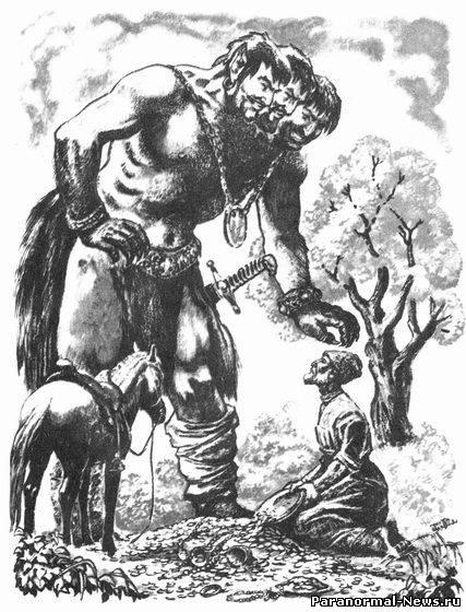 Ольмеки и великаны