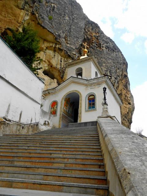 Путешествие по Крыму - пещерные города в окрестностях Бахчисарая