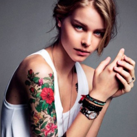 Разрисованные татуировками прекрасные тела женщин. Это красиво или глупо?