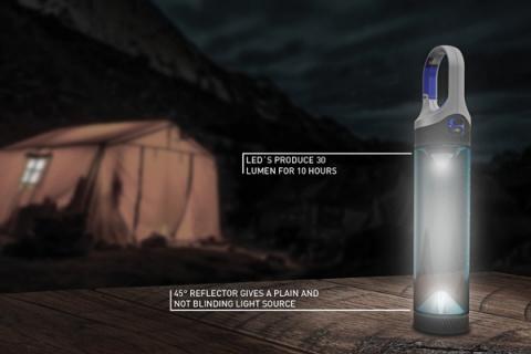 Свет + бутылка воды = Bottlelight