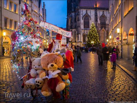 Рождественская ярмарка в Мюнстере