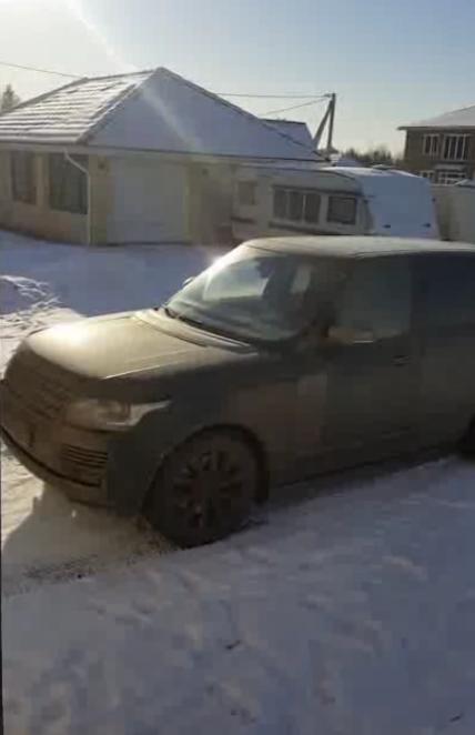 С топором на Range Rover? С удовольствием!