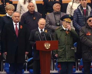 Путин ни разу не произнёс сл…