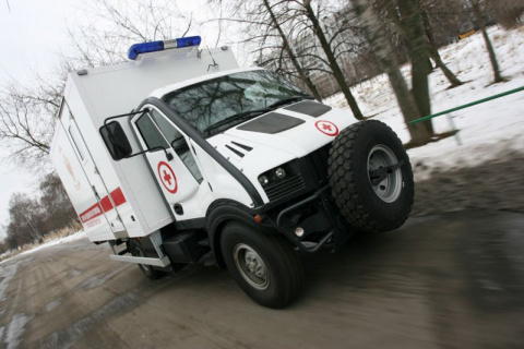 УАЗ T-Rex - Полноприводный грузовик с итальянскими корнями