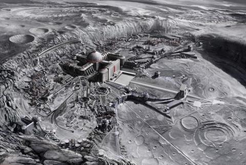 Древнейшие постройки на Луне заставляют задуматься