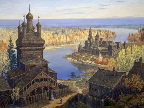 Древнерусские поселения - повседневность и фантазия