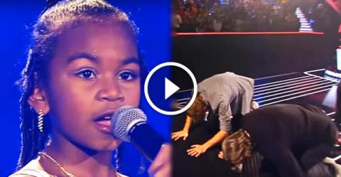 67 000 000 просмотров: голос этой малышки невероятен. Судьи буквально поклонялись ей!