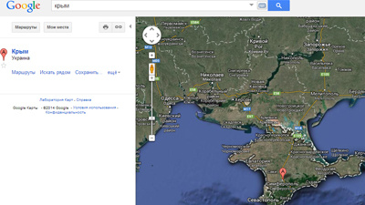 Google, Bing и «Википедию» проверят на обозначение Крыма
