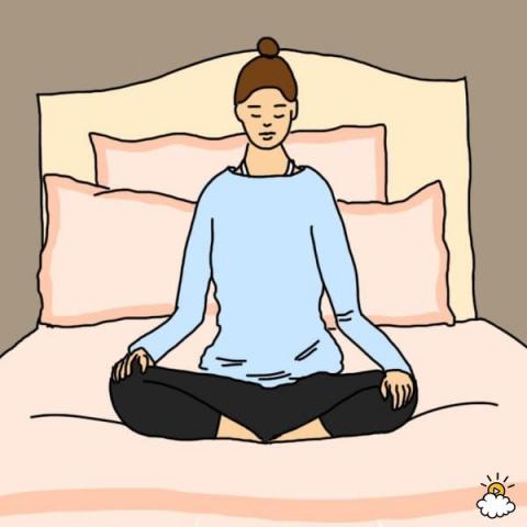 Простые упражнения для расслабления и хорошего сна