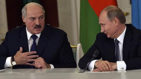 Лукашенко: Мы с Путиным родные братья, нам делить нечего