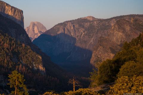 Йосемити: одно из самых красивых мест США