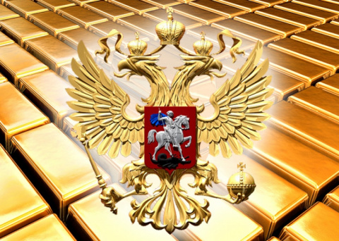 Международные резервы РФ за …