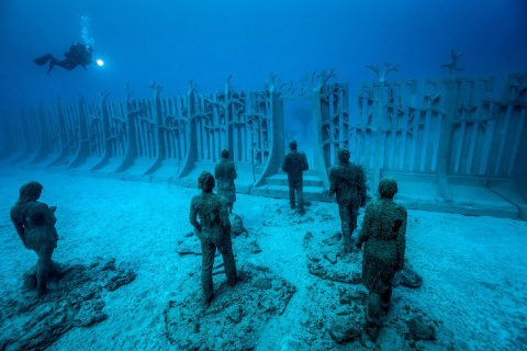 Первый в Европе подводный му…