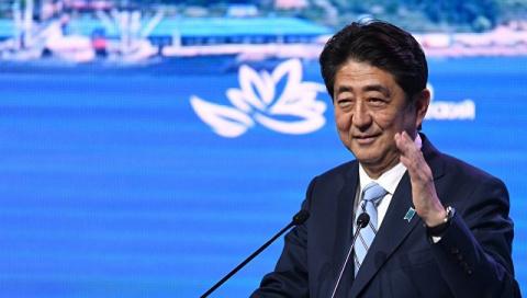 Абэ считает подписание мирного договора выгодным для России и Японии