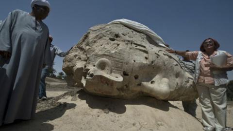 В Египте восстановили 13-мет…