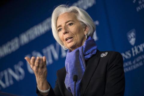 Глава МВФ заявила о достойном выходе России на трек устойчивого роста экономики