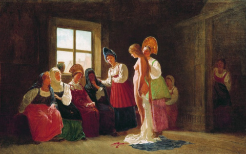 «Тощих в жены не брать» и другие правила семейной жизни на Руси