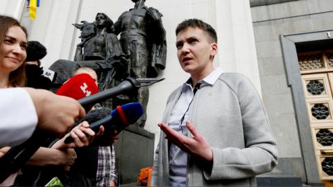 Савченко призвала украинцев …