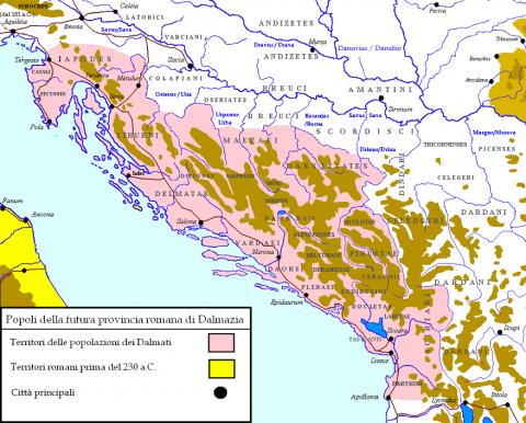 Войны Августа: завоевание Да…