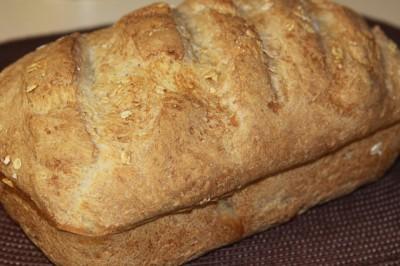 Овсяный очень вкусный хлеб