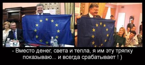 Беспощадная политика Украины…