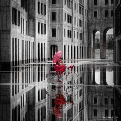 Сюрреалистическое изобразительное искусство Питера Зелей