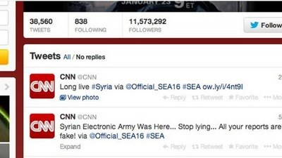 Сирийские хакеры взломали ак…