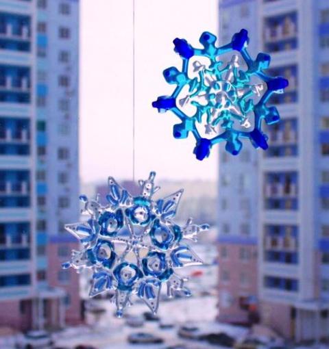Изготавливаем снежинку из стекла