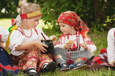 Русское материнство глазами …