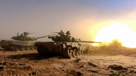 Сирийские ополченцы окружили террористов в районе Евфратской плотины