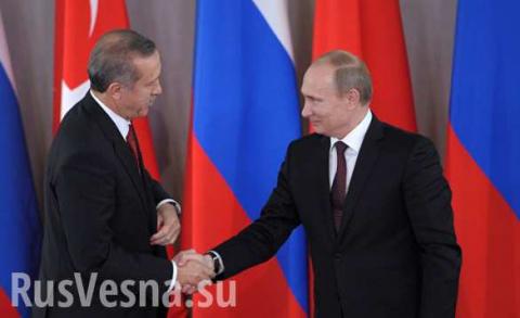 Французские СМИ рассказали, что заставило Турцию стать союзником России в Сирии