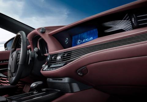 Новый Lexus LS получит «умный» руль