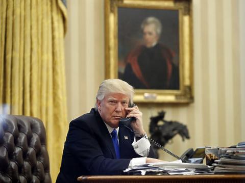 Трамп: фальшивые новости мешают мне договориться с Путиным