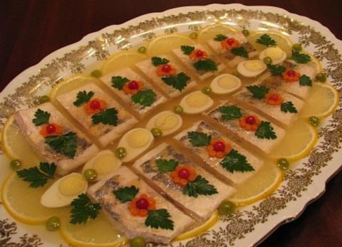 Рыбное заливное! (пошаговый рецепт). Салаты с капустой на зиму - 7 рецептов