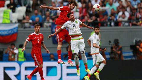 Сборная России уступила Мексике и покинула Кубок конфедераций