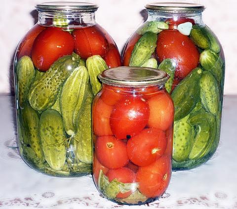 В овощных консервах пользы б…