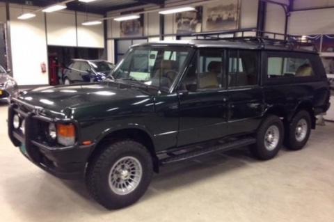 Шестиколесный Range Rover из 80-х. Такого ты точно не видел
