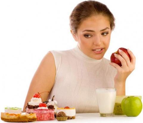 Женская диета глазами желудка.