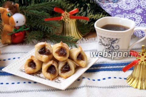 Польское печенье Kolaczki