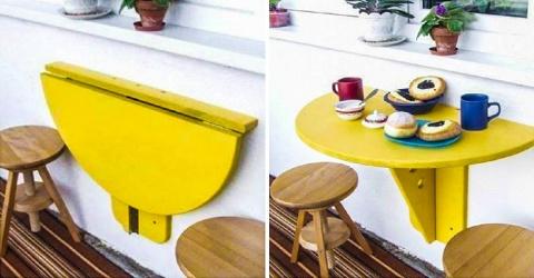 Складной столик для балкона …