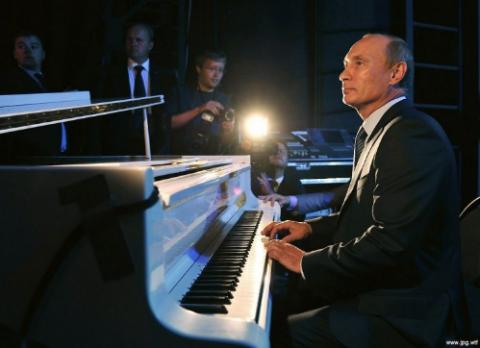 Вы оцените красоту игры Путина...Юлия Витязева