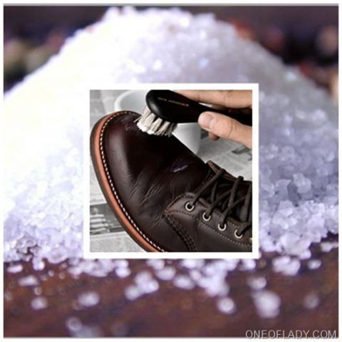 УЗЕЛОК НА ПАМЯТЬ. Как вывести соль из обуви