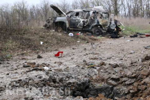 Установлен состав диверсионной группы ВСУ, взорвавшей автомобиль ОБСЕ